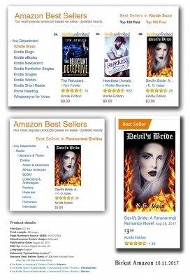 הספר שידוך לשטן באמזון